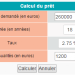 Courtage Crédit Immobilier ou Credit Boursorama Immobilier, Calculatrice Simulateur De Credit Immobilier